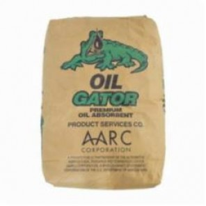 Brady® GS-10 Oil Gator® Loose Granular, 30 lb Bag, 2 to 6 gal/bale, Tan