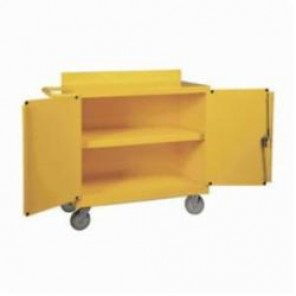 Brady® SC-Cart Spill Control Cart, Wheeled Cart, Yellow