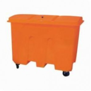 Brady® SC-XLBIN Extra Large Wheeled Chest Spill Truck Bin, 40-1/2 in L x 57-1/2 in W x 47 in H, For Use With Sorbent Products, Polyethylene, Orange