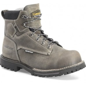 "Men's Carolina 6"" Waterproof Comp Toe Work Boot CA7532"