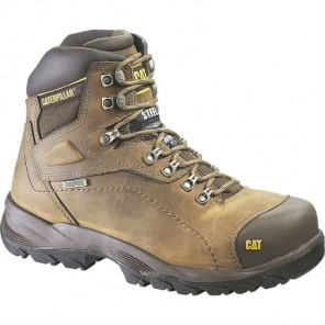 Men's Cat Diagnostic Hi Waterproof Steel Toe Work Boot