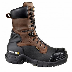 "Men's Carhartt 10"" Waterproof Insulated Pac Composite-Toe Boot"