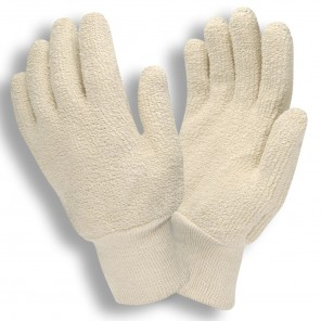 3224 24 oz Terry Cloth-Natural Glove, Dozen