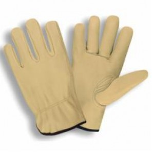 Cordova 8210-2XL General Purpose Gloves, 2XL, Standard Grain Cowhide Leather Palm, Keystone Thumb