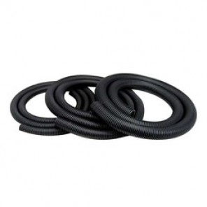Dynabrade® 31921 Conductive Static Vacuum Hose, 1 in Dia, Black