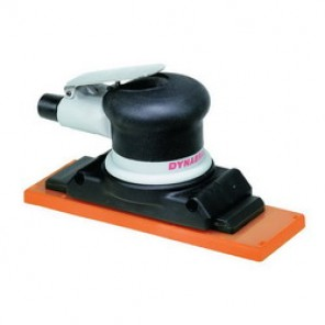 Dynabrade® Dynaline® 57401 Self-Generated Vacuum Inline Board Sander, 2-3/4 x 8 in, 0.3 hp, 18 scfm, 90 psi (Bare Tool)
