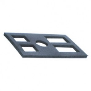 Dynabrade® 91887 Vibration Absorbing Pad, 90% Vibration Reduction, 3/4 in Thickness, For Use With 60202 Leveling Jack