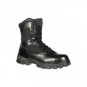 Men's Rocky AlphaForce Zipper Waterproof Duty Boot