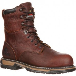 Men's Rocky IronClad Waterproof Steel-Toe Work Boots