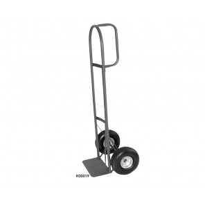 "HEAVY-DUTY D-HANDLE TRUCK, Wheels: 10"" Pneumatic, Load Cap. (lbs.): 800 Vertical postion (200 w/extension)"