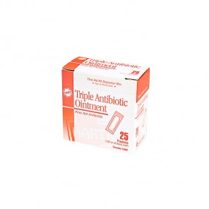 TRIBIOTIC 5482, HART, Triple-Antibiotic Ointment 0.9 gm Packets, 25/Box