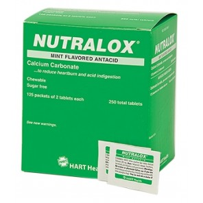 NUTRALOX MINT ANTACID, HART INDUSTRIAL PACK, 125/2'S BOX 5674