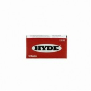 Hyde® 13110 Single Edge Razor Blade, 0.009 in THK, For Use With Razor Scraper, Industrial Steel