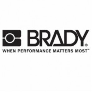 Brady® Prinzing® 58477 Write-On Polyester Overlaminate Sheet, 4-1/2 in L x 5 in W