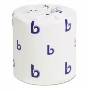 "Two-Ply Toilet Tissue White 4-1/2"" x 3-3/4"" sheets, 96 Rolls per Case"