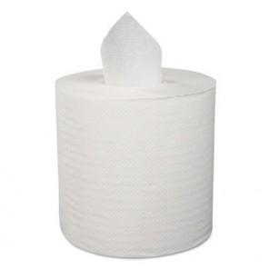 """Center-Pull Hand Towels, 2-Ply, Perforated, 7 7/8"""" x 10"""", 600/Roll, 6 Rolls/CT 6400"""