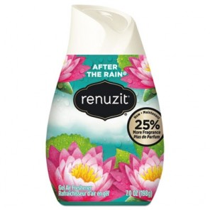 Renuzit Adjustables Air Freshener Gel, After the Rain Scent, 12/Carton