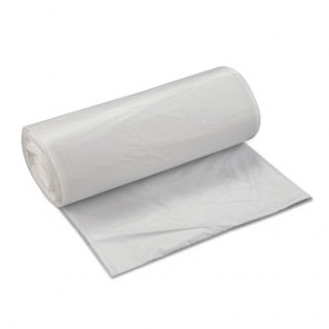 Inteplast S434816N Interleaved High-Density Can Liner, 43 x 48, 60gal, 16mic, Natural, 200/Carton