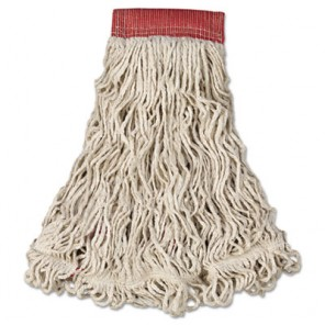 Swinger Loop Wet Mop Heads Large, White
