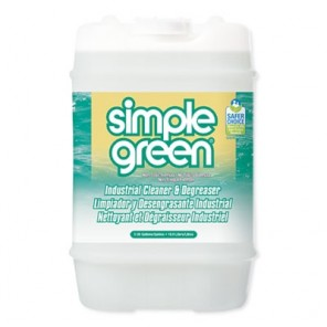 Simple Green® SMP13006 Industrial Cleaner and Degreaser, Concentrated, 5 Gal Pail