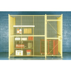 WIRE MESH ENCLOSURES, No. of Sides: 4, Size L x W x H: 20 x 20 x 10', Crating Charges: Crating charges will be added