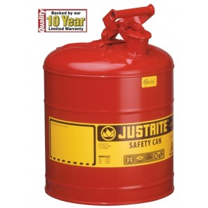 "TYPE 1 SAFETY CANS, Capacity: 1 qt., Size O.D. x H: 4-3/8 x 8-1/4"", Accessories Included: None"