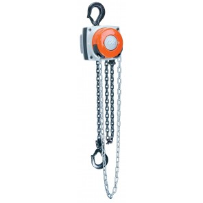 CM HURRICANE HAND CHAIN HOIST, CM Hurricane w/Hand & Load Chain, Cap. (Tons): 1, Lift Height: 10'