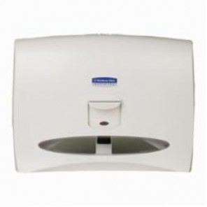 Kimberly Clark; 09505 Toilet Seat Cover Dispenser, 13-1/4 in OAL x 17-1/2 in OAW x 2-1/4 in OAH, Wall Mount, Plastic