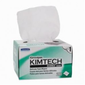 Kimberly Clark; Kimwipes; 34155 Task Wiper, 4.4 x 8.4 in, Cellulose