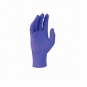 Kimberly Clark; Purple Nitrile® Disposable Exam Grade Chemical Resistant Gloves, L, Purple, Nitrile