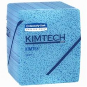 Kimtech Prep; Kimtex; 33560 Cleaning Wiper, 66 Sheets, 12 in W, Meltblown