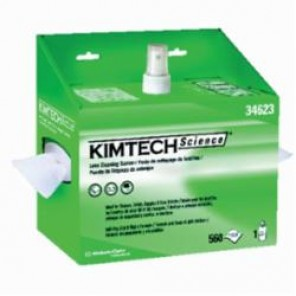 Kimtech Science; KIMWIPES; 34623 Lens Cleaning Station, Anti-Static, Anti-Fog, 560, 8 oz, 1-Ply Tissue