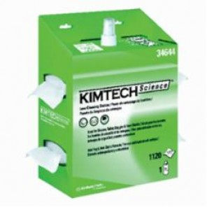 Kimtech Science; KIMWIPES; 34644 Dual Lens Cleaning Station, Anti-Static, Anti-Fog, 1120, 16 oz, 1-Ply Tissue