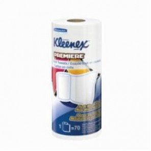 Kleenex® 50606 Hard Roll Towel, 600 ft L x 8 in W, Paper, White