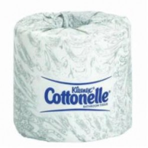 Kleenex® Cottonelle® 17713 Toilet Tissue, 451 Sheets/Roll, 4 in L x 4.09 in W, Fiber