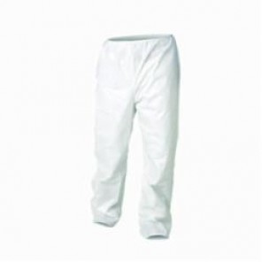 KleenGuard; 36224 Breathable Disposable Pant, XL, White, Microforce™ SMS Fabric