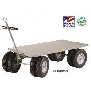 "8-WHEELER WAGON TRUCK, Deck Type: 1-1/2"" Lip Edge Deck, Deck Size W x L: 30 x 60"""