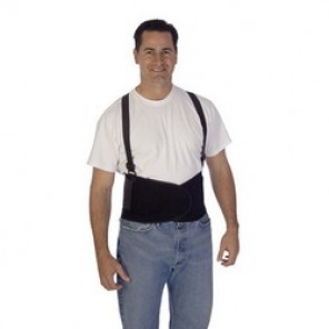 Liberty Glove Plain Back Support With Suspenders