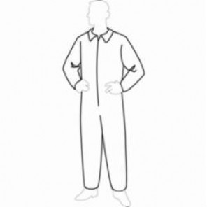 Tyvek Coverall - Open Wrist & Ankles