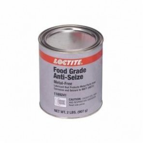 Loctite® 1169241 1-Part Food Grade Anti-Seize Lubricant, 2 lb Can, Paste, White, 1.18