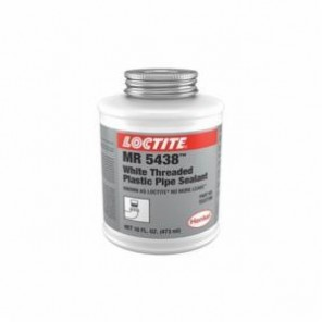 Loctite® 1537780 1-Part Thread Sealant, 16 oz Brushtop Can, Liquid/Paste, White, 1.37