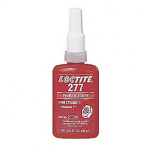 Loctite® 21434 High Strength Large Bolt Medium Viscosity Thread Sealant, 10 ml Bottle, Liquid, Red, 1.1