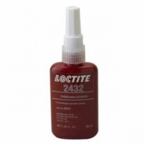 Loctite® 25523 1-Part Medium Strength Threadlocker, 50 mL Bottle, Liquid, Blue, 1.08