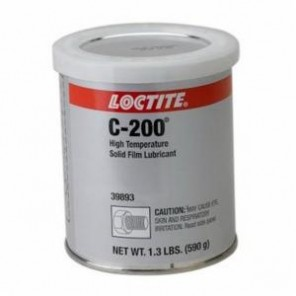 Loctite® 39893 1-Part High Temperature Solid Film Lubricant, 1.3 lb Can, Solid, Black, 1.4406