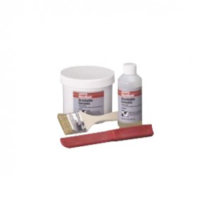 Loctite® 40591 2-Part Abrasion Resistant Brushable Ceramic, 2 lb, Part A: Paste, Part B: Liquid, 12 sq-ft