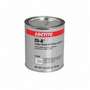 Loctite® 51008 1-Part Anti-Seize Lubricant, 2.5 lb Can, Paste, Copper, 1.3
