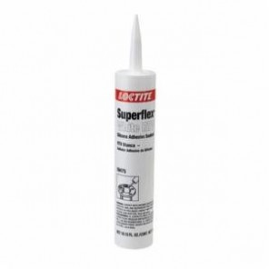 Loctite® Superflex® 59475 RTV Silicone Adhesive Sealant, 300 mL Cartridge, Paste, White, 1.01