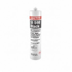 Loctite® 59875 High Performance RTV Silicone Gasket Maker, 300 mL Cartridge, Paste, Black, 1.3