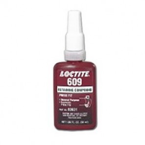 Loctite® 60943 Medium Strength Retaining Compound, 1 l Bottle, Liquid, Green, 1.1