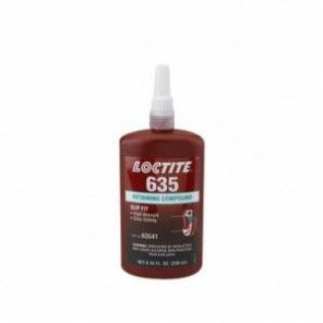 Loctite® 63541 1-Part High Strength Retaining Compound, 250 mL Bottle, Liquid, Green, 1.09